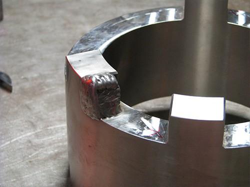 GTAW repair weld