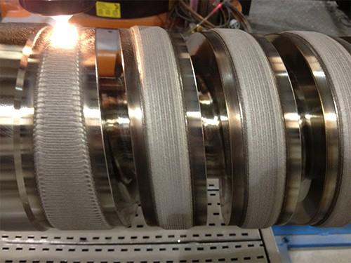 Laser Cladding and hardfacing