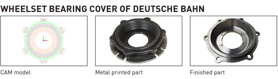 Wheelset Bearing Cover of Deutsche Bahn